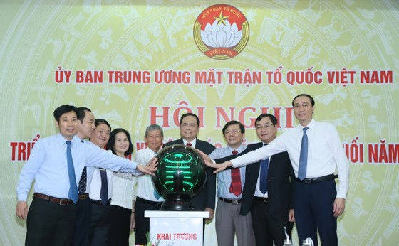 1.300 đại biểu dự Đại hội đại biểu toàn quốc MTTQ Việt Nam lần thứ IX   ảnh 3