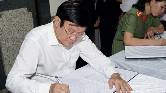 Bí thư Thành ủy TPHCM Nguyễn Thiện Nhân viếng Phó Chủ tịch UBND TPHCM Nguyễn Thị Thu ảnh 7