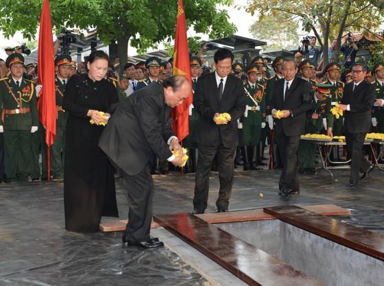 Lễ an táng nguyên Chủ tịch nước Lê Đức Anh  ảnh 3