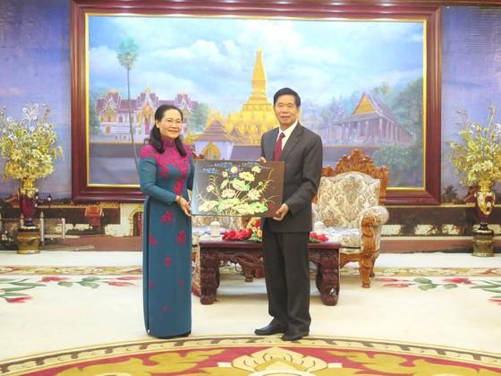 Đoàn đại biểu cấp cao TPHCM bắt đầu chuyến thăm Lào ảnh 2