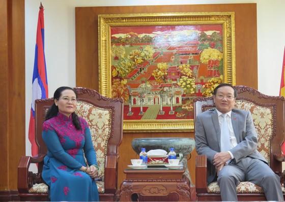 Đoàn đại biểu cấp cao TPHCM bắt đầu chuyến thăm Lào ảnh 4