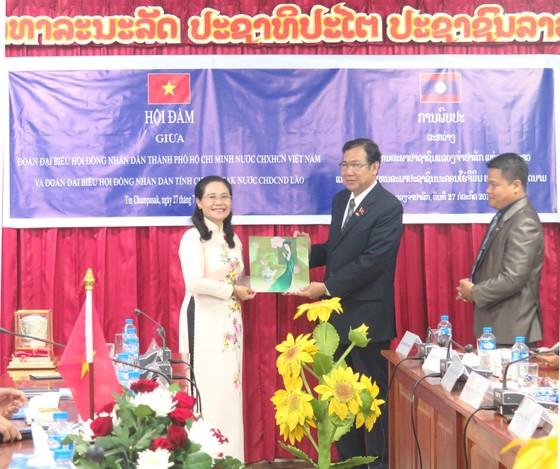 Lào đề nghị HĐND TPHCM chia sẻ kinh nghiệm phối hợp với chính quyền ảnh 4