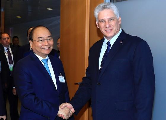 Thủ tướng Nguyễn Xuân Phúc gặp gỡ Chủ tịch Đại hội đồng và Tổng Thư ký Liên hiệp quốc ảnh 2