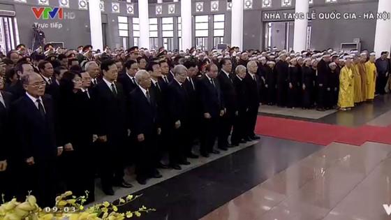 Tổ chức trọng thể Lễ truy điệu nguyên Tổng Bí thư Đỗ Mười ảnh 2