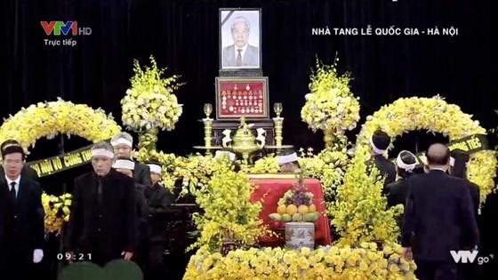 Tổ chức trọng thể Lễ truy điệu nguyên Tổng Bí thư Đỗ Mười ảnh 11
