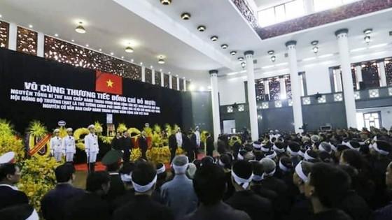 Tổ chức trọng thể Lễ truy điệu nguyên Tổng Bí thư Đỗ Mười ảnh 9