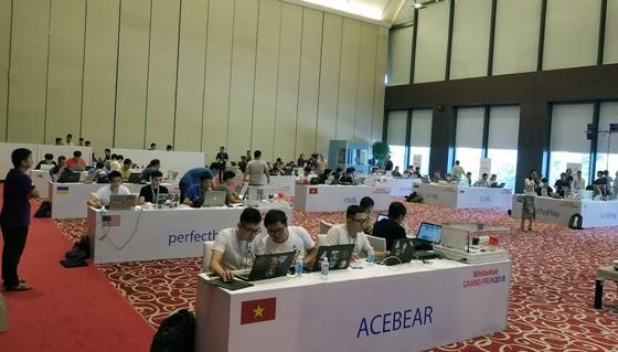 Đang diễn ra cuộc thi An toàn không gian mạng toàn cầu ở Hà Nội ảnh 1