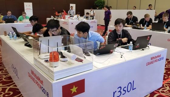 Đang diễn ra cuộc thi An toàn không gian mạng toàn cầu ở Hà Nội ảnh 4