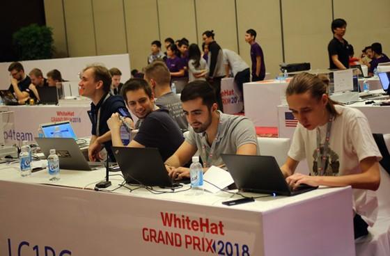 Đội thi của Nga đoạt ngôi vương WhiteHat Grand Prix 2018 ảnh 3