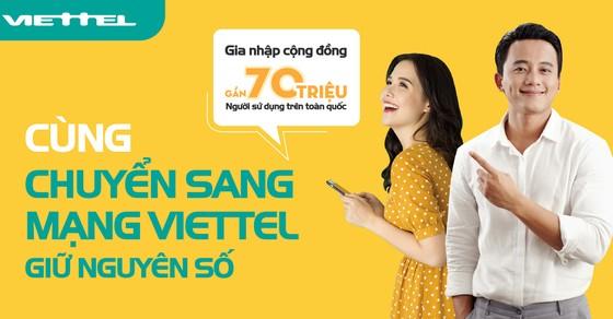 Viettel phục vụ khách hàng chuyển mạng giữ số ngay tại nhà ảnh 1