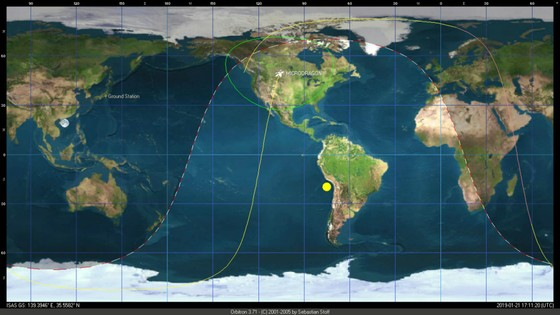 Những bức ảnh đầu tiên do vệ tinh MicroDragon chụp ảnh 1