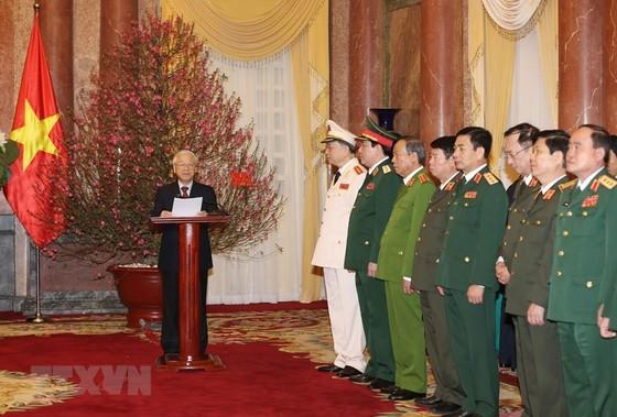 Tổng Bí thư, Chủ tịch nước Nguyễn Phú Trọng chủ trì lễ phong hàm 2 Đại tướng ảnh 1