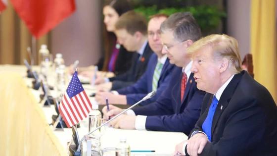 Tổng Bí thư, Chủ tịch nước Nguyễn Phú Trọng tiếp Tổng thống Donald Trump ảnh 4