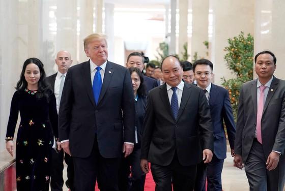 Thủ tướng Nguyễn Xuân Phúc hội kiến Tổng thống Donald Trump ảnh 4