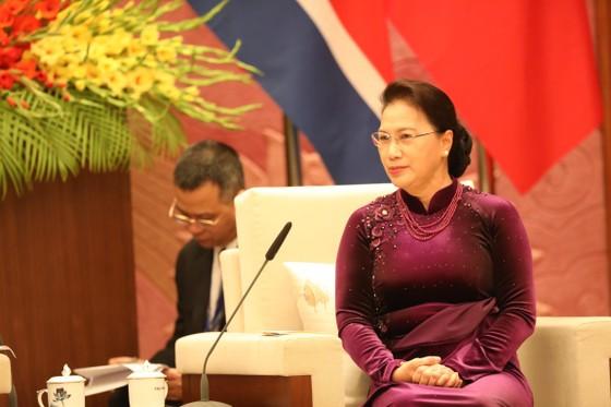 Thủ tướng Nguyễn Xuân Phúc hội kiến với Chủ tịch Kim Jong-un ảnh 10