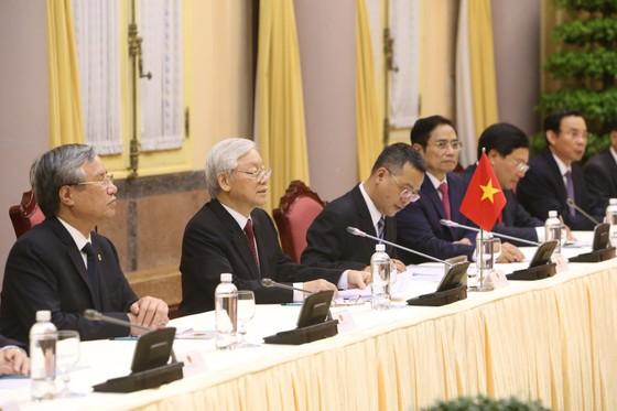 Lễ đón chính thức Chủ tịch Triều Tiên Kim Jong-un ảnh 13
