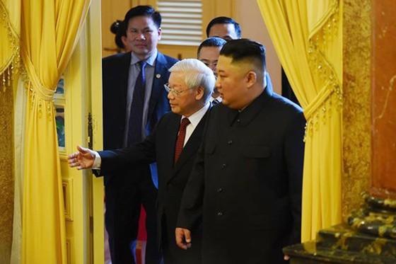 Lễ đón chính thức Chủ tịch Triều Tiên Kim Jong-un ảnh 9
