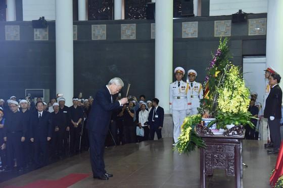 Cử hành trọng thể Lễ tang cấp Nhà nước Trung tướng Đồng Sỹ Nguyên  ảnh 4
