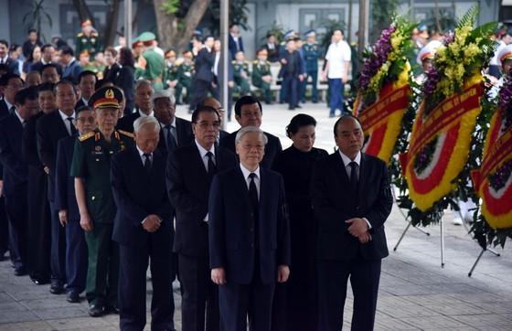 Cử hành trọng thể Lễ tang cấp Nhà nước Trung tướng Đồng Sỹ Nguyên  ảnh 3