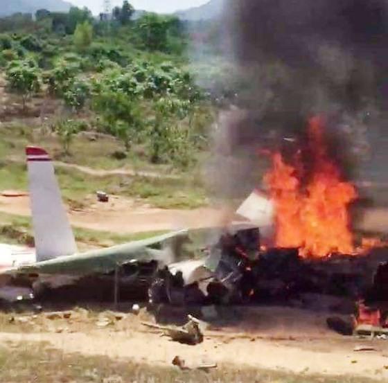 Bộ Quốc phòng thông tin vụ việc máy bay quân sự rơi ở Khánh Hòa ảnh 1