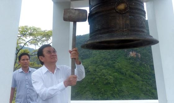 """Nguyên Chủ tịch nước Trương Tấn Sang tưởng niệm 35 năm """"ngày giỗ chung"""" mặt trận Vị Xuyên ảnh 2"""