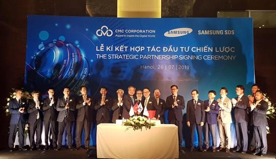 Samsung SDS trở thành đối tác chiến lược, nắm 25% cổ phần CMC ảnh 1