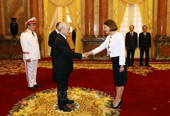 Tổng Bí thư, Chủ tịch nước Nguyễn Phú Trọng tiếp các Đại sứ trình Quốc thư ảnh 2