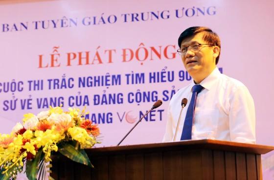 Phát động cuộc thi trắc nghiệm Tìm hiểu 90 năm lịch sử vẻ vang của Đảng Cộng sản Việt Nam ảnh 2