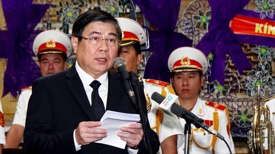 Lễ truy điệu và di quan Phó Chủ tịch UBND TPHCM Nguyễn Thị Thu ảnh 2