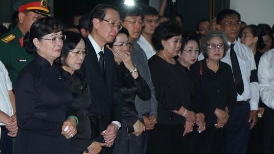 Lễ truy điệu và di quan Phó Chủ tịch UBND TPHCM Nguyễn Thị Thu ảnh 15