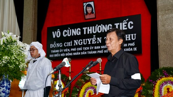 Lễ truy điệu và di quan Phó Chủ tịch UBND TPHCM Nguyễn Thị Thu ảnh 4