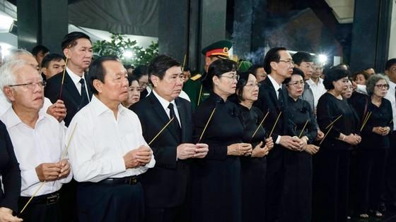 Lễ truy điệu và di quan Phó Chủ tịch UBND TPHCM Nguyễn Thị Thu ảnh 6
