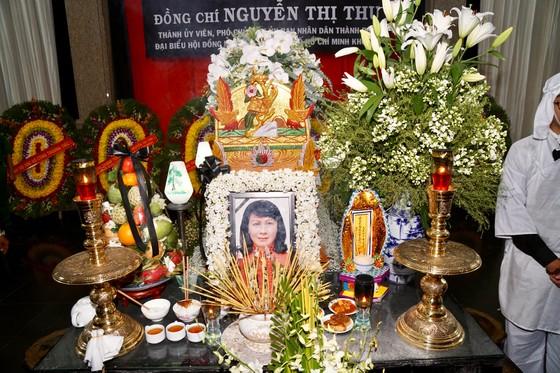 Lễ truy điệu và di quan Phó Chủ tịch UBND TPHCM Nguyễn Thị Thu ảnh 10