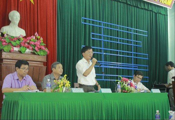 Đối thoại xử lý ô nhiễm rác ở Sa Huỳnh chưa thỏa đáng, dân nói tiếp tục chặn xe rác ảnh 3