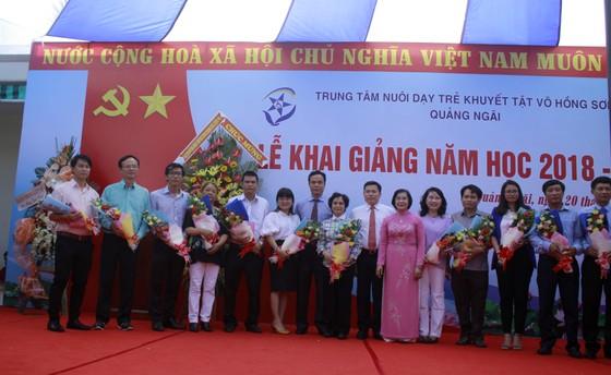 Hơn 3 tỷ đồng ủng hộ Trung tâm Nuôi dạy trẻ khuyết tật Võ Hồng Sơn ảnh 4