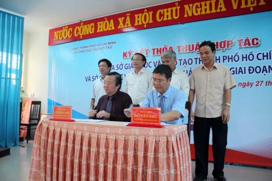 Hợp tác ngành giáo dục TPHCM và tỉnh Quảng Ngãi ảnh 2