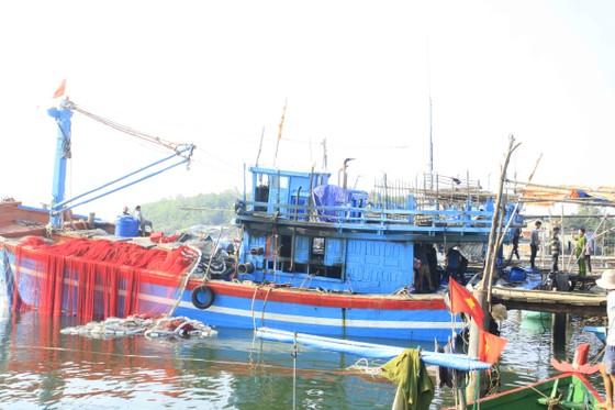 Quảng Ngãi: Cháy tàu cá, thiệt hại hơn 200 triệu đồng ảnh 5