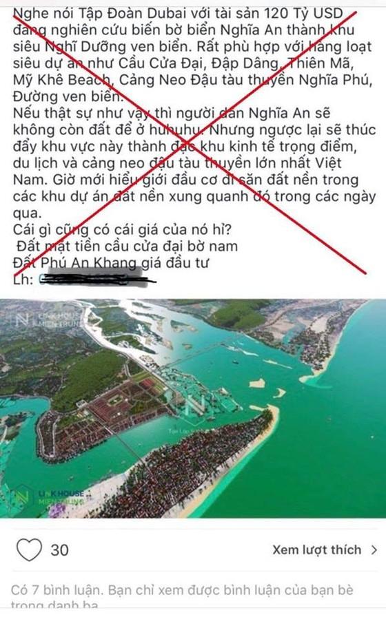 Công an Quảng Ngãi xử lý vụ người tung tin giả thổi giá đất ảnh 1