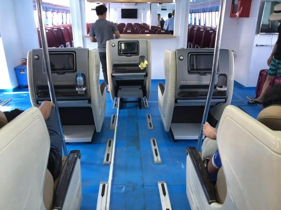 Tàu siêu tốc 22 tỷ đưa vào hoạt động tuyến Sa Kỳ-Lý Sơn ảnh 4