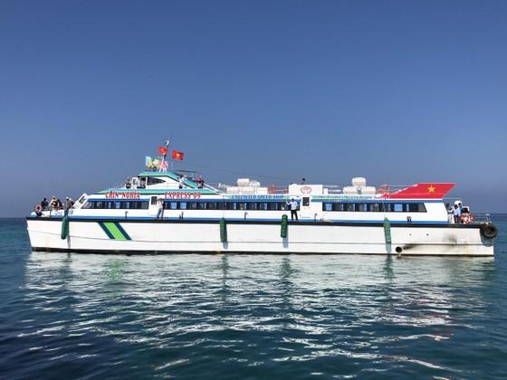 Tàu siêu tốc 22 tỷ đưa vào hoạt động tuyến Sa Kỳ-Lý Sơn ảnh 1