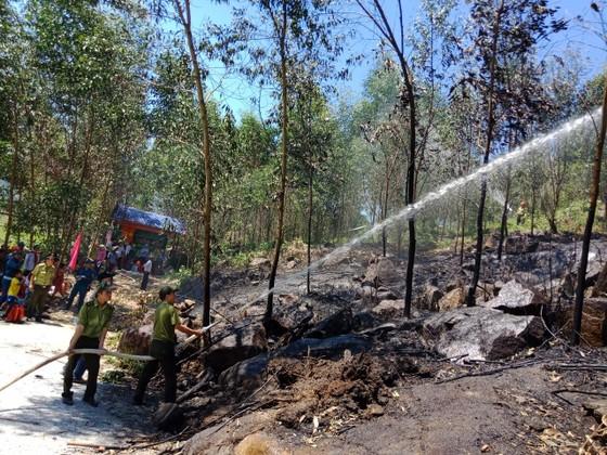 Quảng Ngãi: Diễn tập xử lý các tình huống cháy rừng ảnh 3
