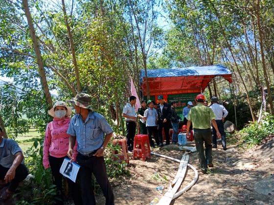 Quảng Ngãi: Diễn tập xử lý các tình huống cháy rừng ảnh 4