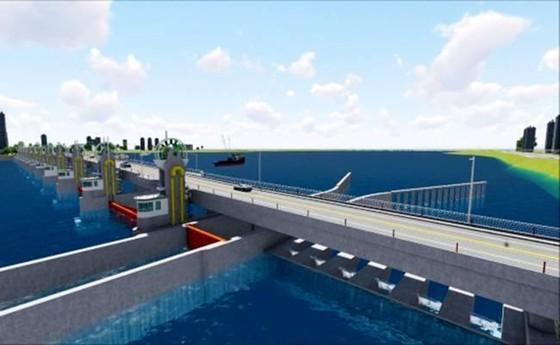 Quảng Ngãi: Khởi công Dự án Đập dâng hạ lưu sông Trà Khúc ảnh 2