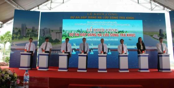 Quảng Ngãi: Khởi công Dự án Đập dâng hạ lưu sông Trà Khúc ảnh 1