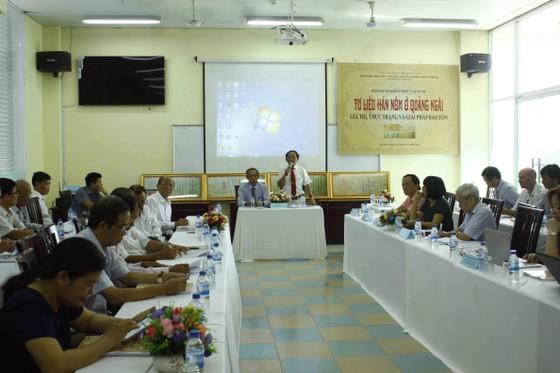 Tư liệu Hán Nôm ở Quảng Ngãi: Giá trị, thực trạng và giải pháp bảo tồn ảnh 2