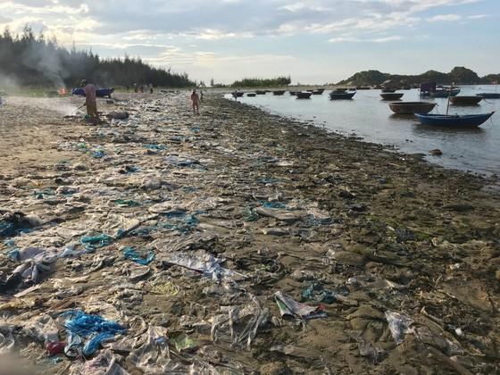 Chỉ 7 ngày, 140 người dân dọn sạch rác bãi biển Sa Cần  ảnh 1