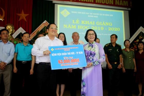 Hơn 3 tỷ đồng ủng hộ Trung tâm Nuôi dạy trẻ khuyết tật Võ Hồng Sơn ảnh 6