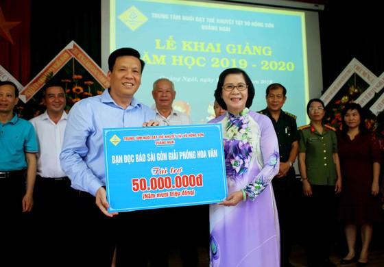 Hơn 3 tỷ đồng ủng hộ Trung tâm Nuôi dạy trẻ khuyết tật Võ Hồng Sơn ảnh 3