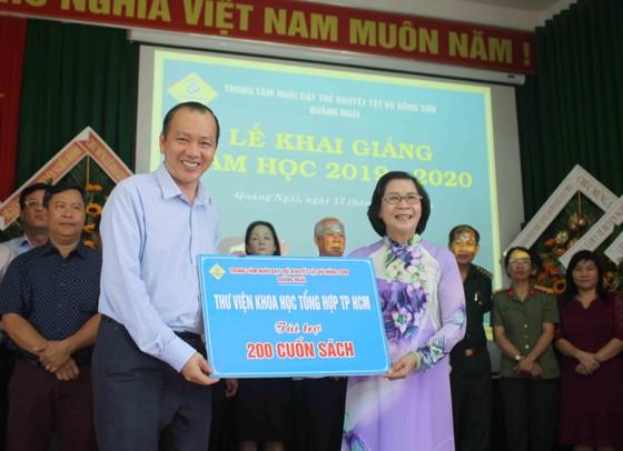 Hơn 3 tỷ đồng ủng hộ Trung tâm Nuôi dạy trẻ khuyết tật Võ Hồng Sơn ảnh 7