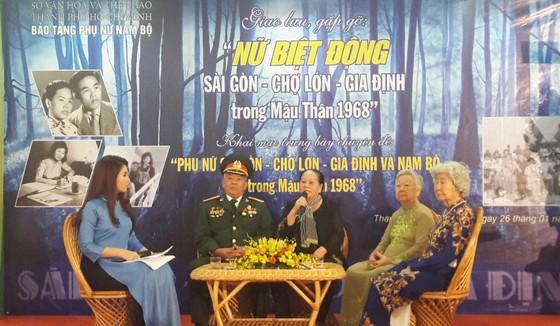 Giao lưu, gặp gỡ nữ biệt động Sài Gòn - Chợ Lớn - Gia Định ảnh 1